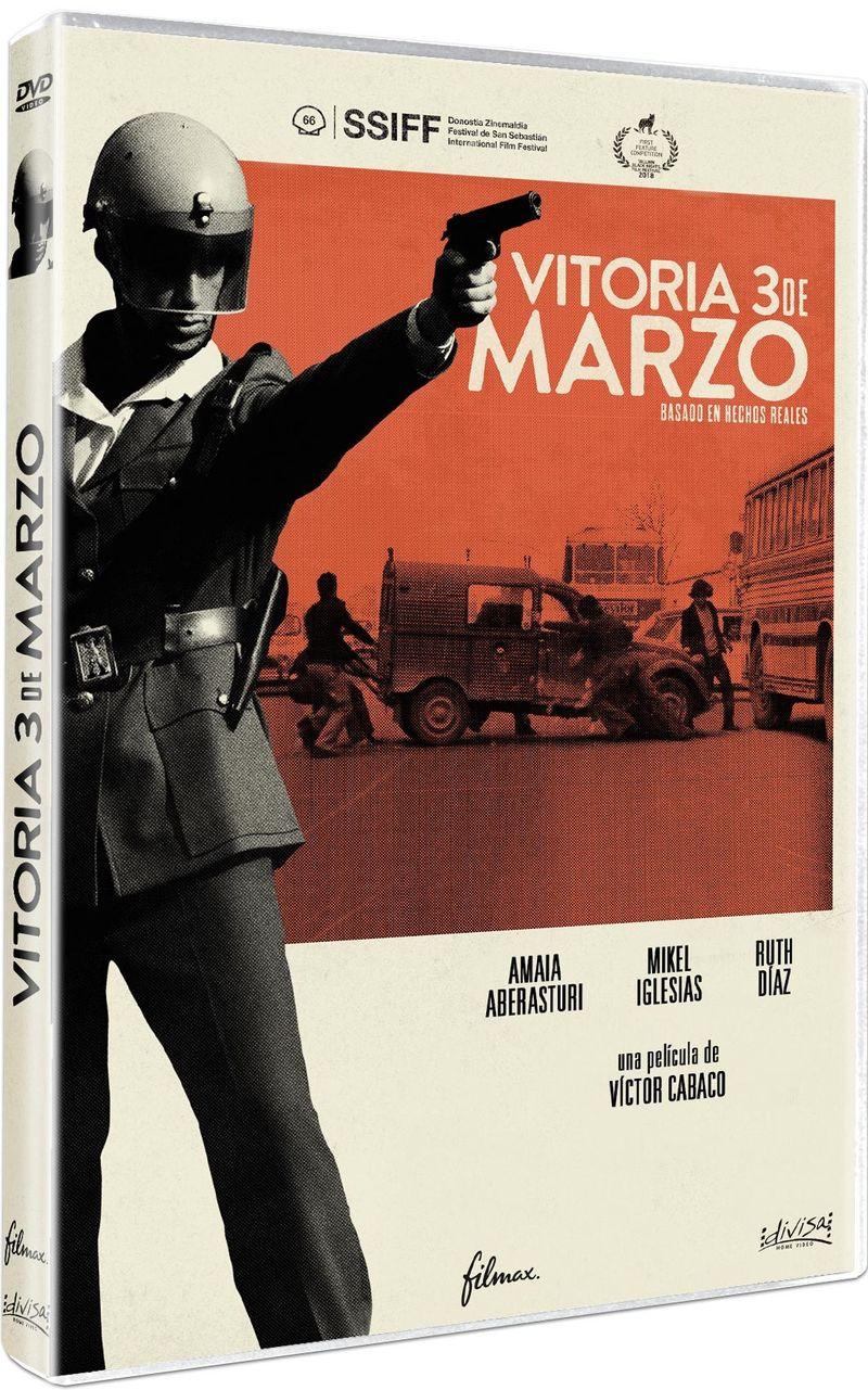 VITORIA, 3 DE MARZO (DVD) * AMAIA ABERASTURI, MIKEL IGLESIAS