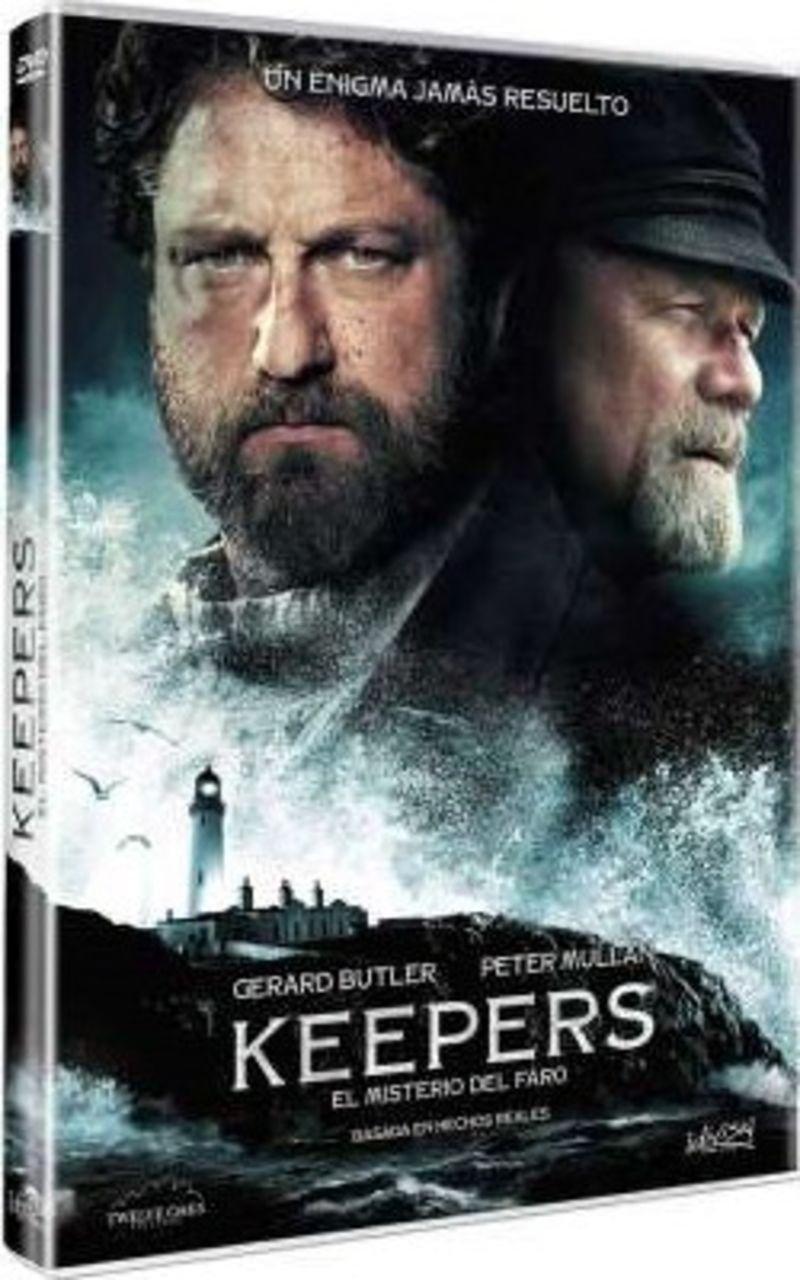 KEEPERS, EL MISTERIO DEL FARO (DVD) * GERARD BUTLER, PETER MULLAN