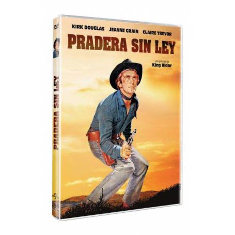 LA PRADERA SIN LEY (DVD) * KIRK DOUGLAS
