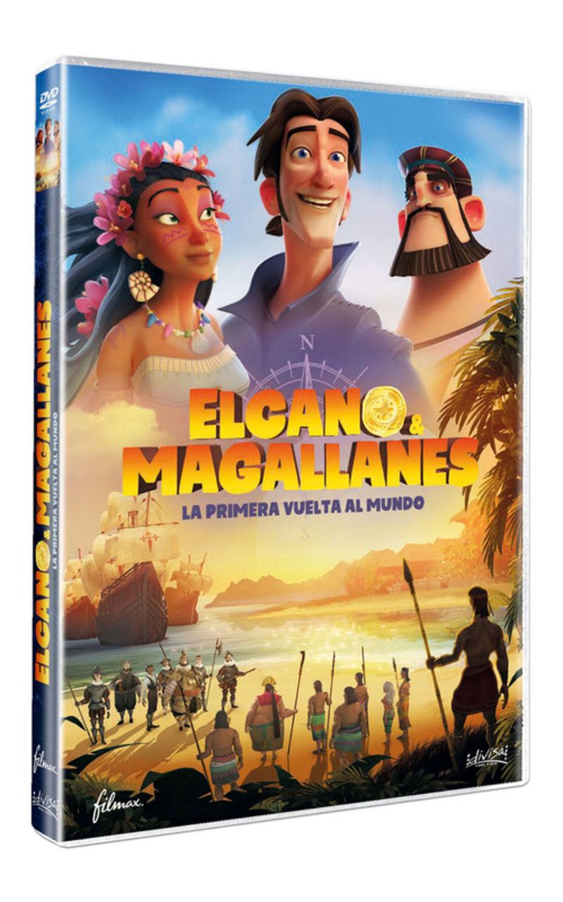 (DVD) ELCANO Y MAGALLANES, LA PRIMERA VUELTA AL MUNDO / ELKANO LEHEN MUNDU BIRA