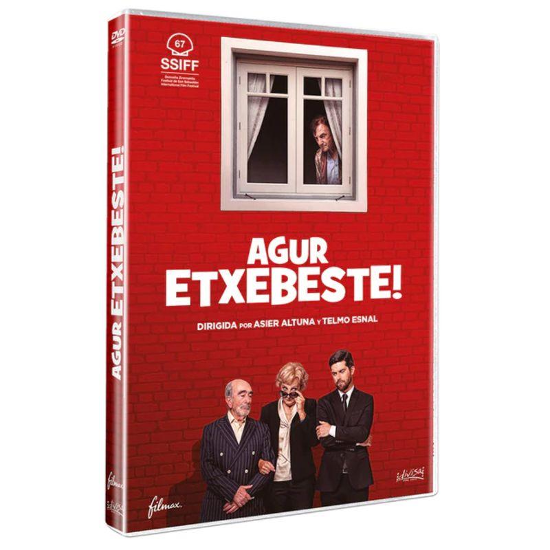 Agur Etxebeste (dvd) * Elena Irureta / Iban Garate - Telmo Esnal