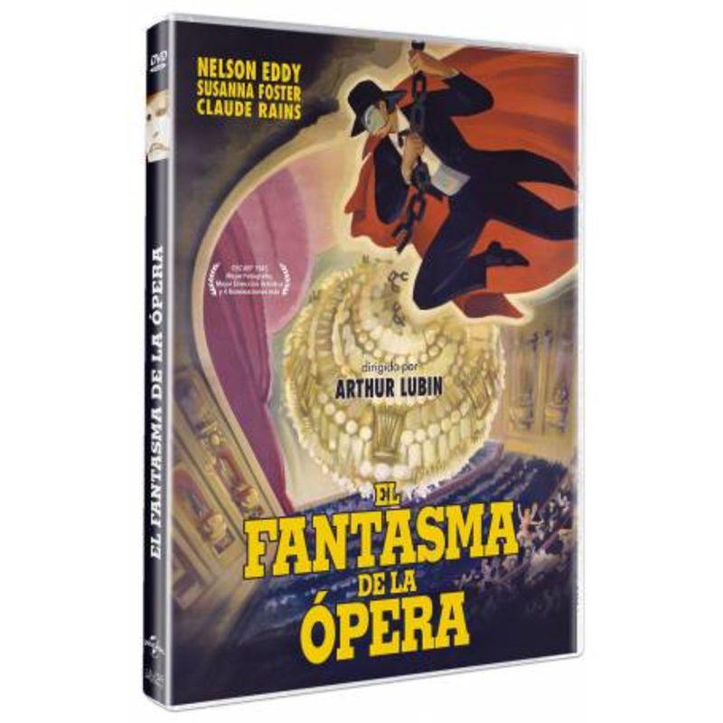 EL FANTASMA DE LA OPERA (DVD) * NELSON EDDY