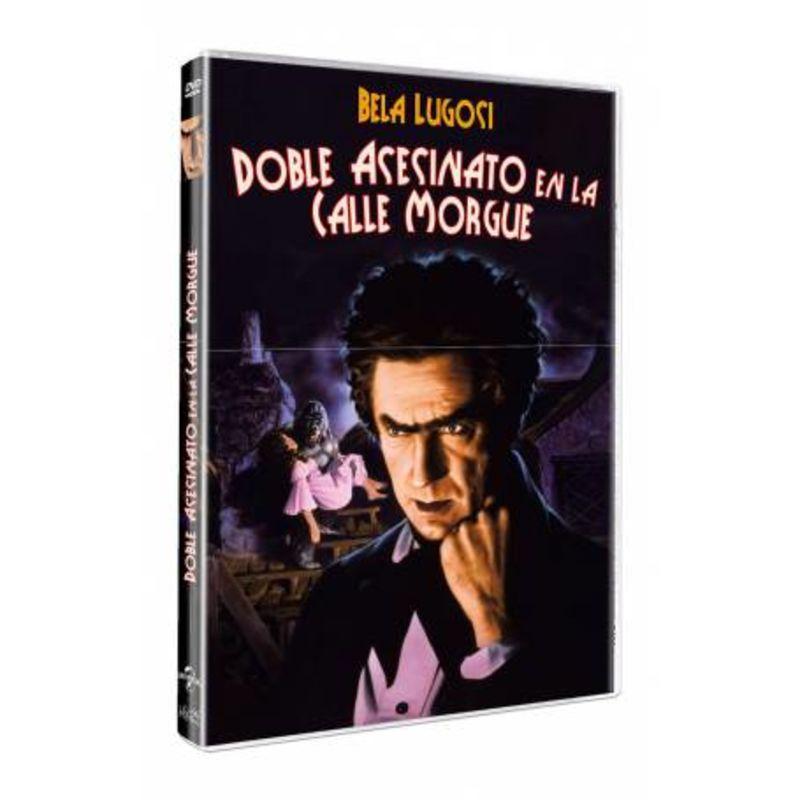 EL DOBLE ASESINO DE LA CALLE MORGUE (DVD) * BELA LUGOSI