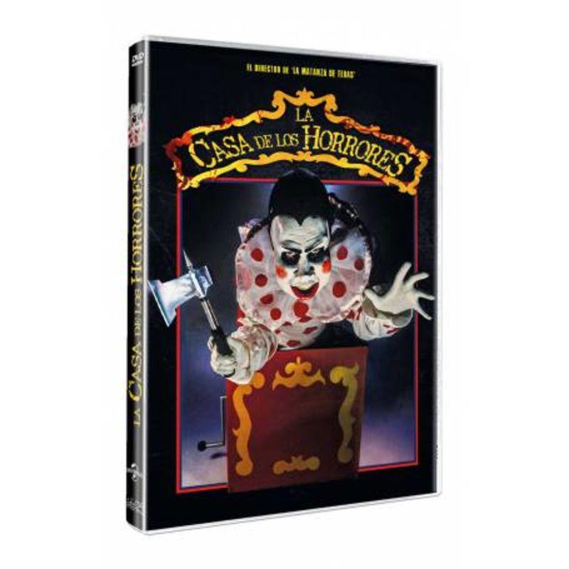La Casa De Los Horrores (dvd) * Elizabeth Berridge - Tobe Hooper