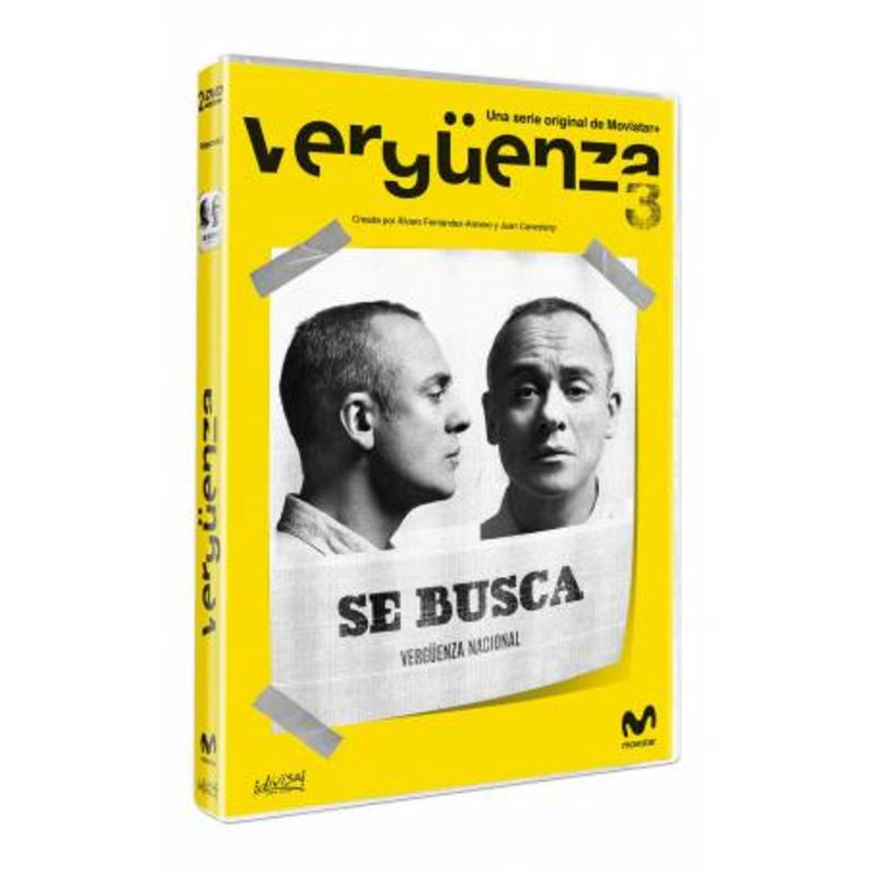 VERGUENZA, TEMPORADA 3 (DVD) * JAVIER GUTIERREZ