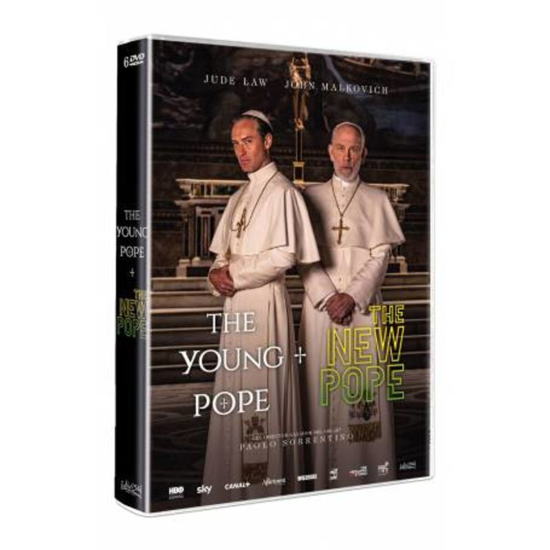 THE YOUNG POPE + THE NEW POPE (DVD)