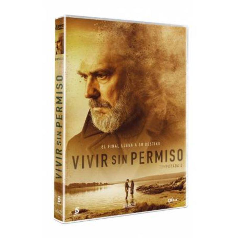 VIVIR SIN PERMISO, TEMPORADA 2 (4 DVD) * COSE CORONADO