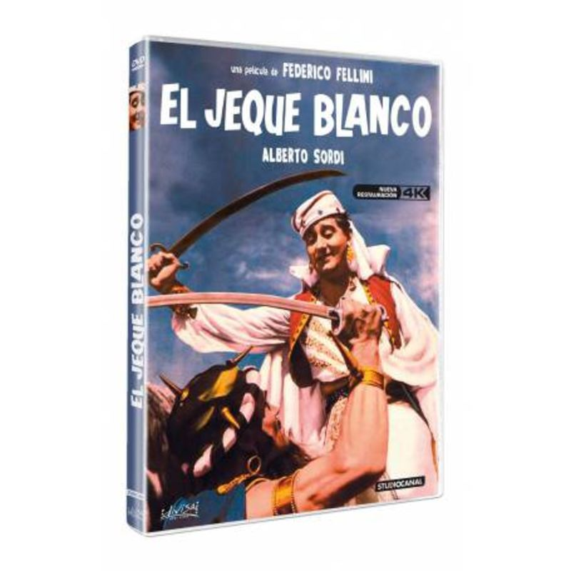 EL JEQUE BLANCO (DVD) * ALBERTO SORDI