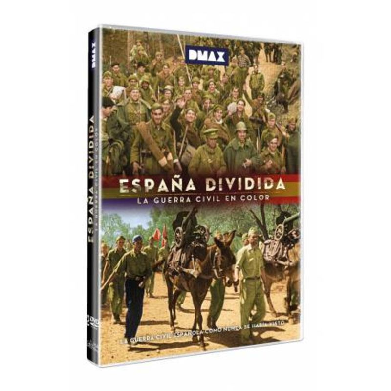 ESPAÑA DIVIDIDA - LA GUERRA CIVIL EN COLOR (DVD)