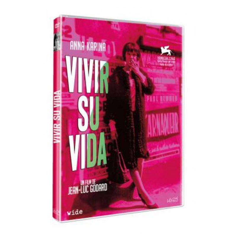 VIVIR SU VIDA (DVD) * ANNA KARINA