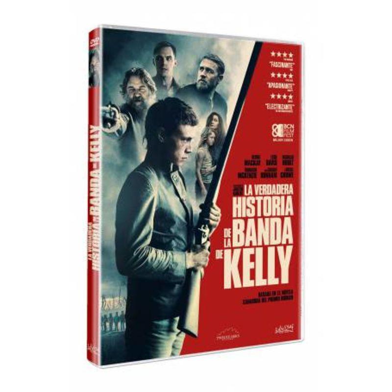 LA VERDADERA HISTORIA DE LA BANDA DE KELLY (DVD) * GEORGE MACKAY