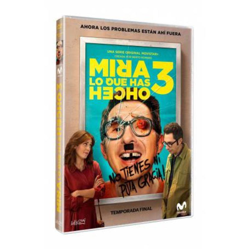 MIRA LO QUE HAS HECHO - TEMPORADA FINAL 3 (DVD) * BERTO ROMERO