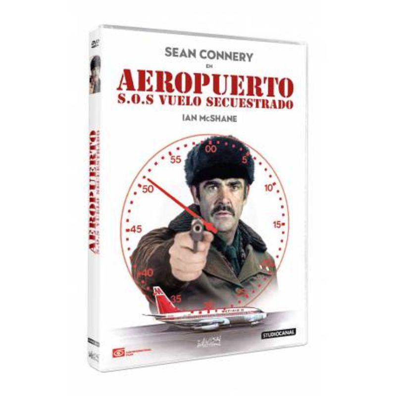 AEROPUERTO, S. O. S. VUELO SECUESTRADO (DVD) * SEAN CONNERY