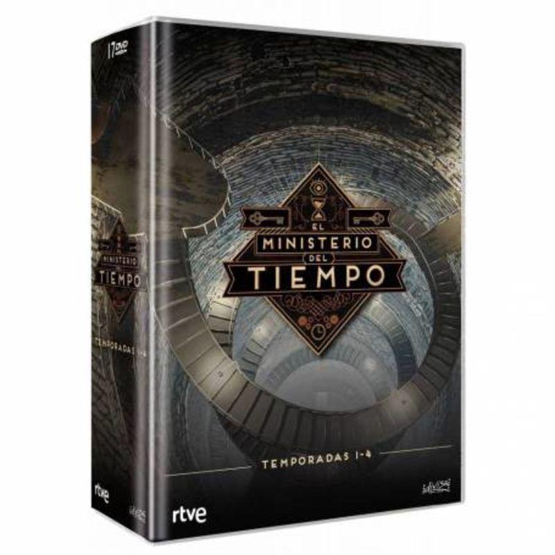 EL MINISTERIO DEL TIEMPO, TEMPORADA 1-4 (18 DVD)