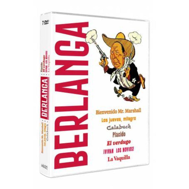 BERLANGA 1921-2021 (PACK 7 DVD)