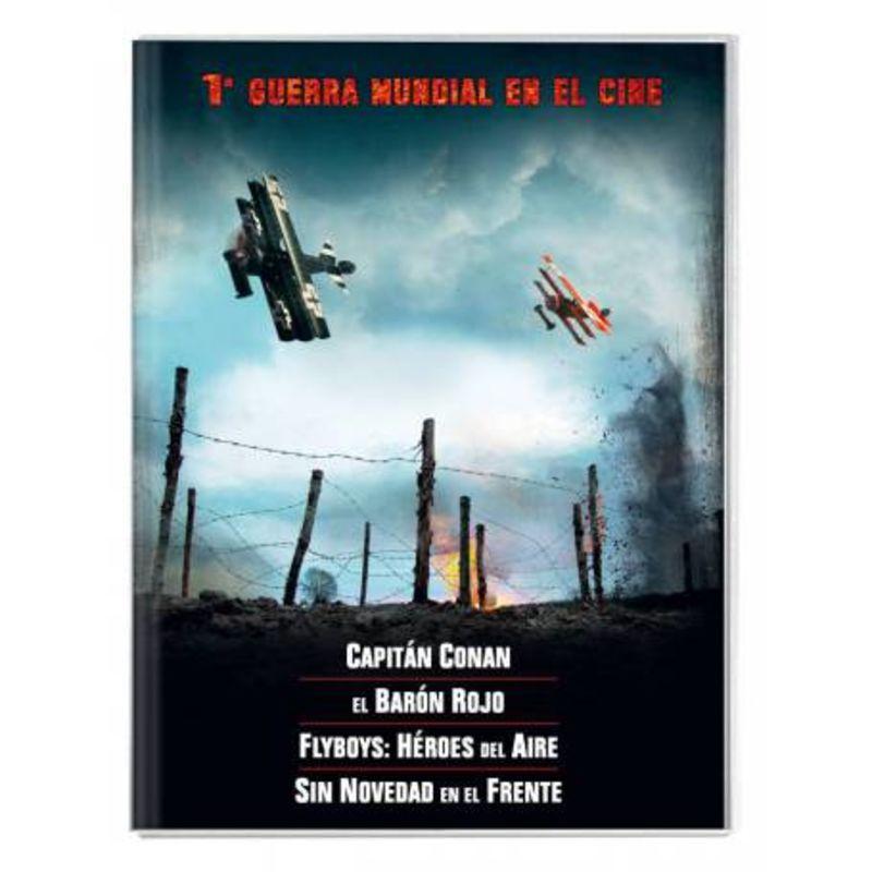 1ª GUERRA MUNDIAL EN EL CINE (4 DVD)