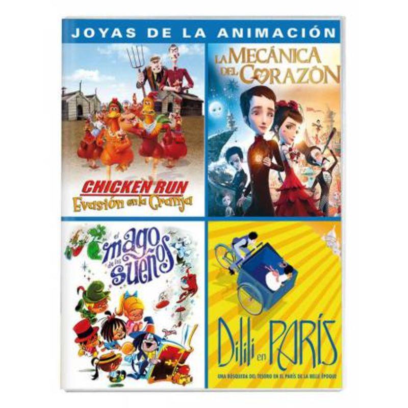 JOYAS DE LA ANIMACION (4 DVD)