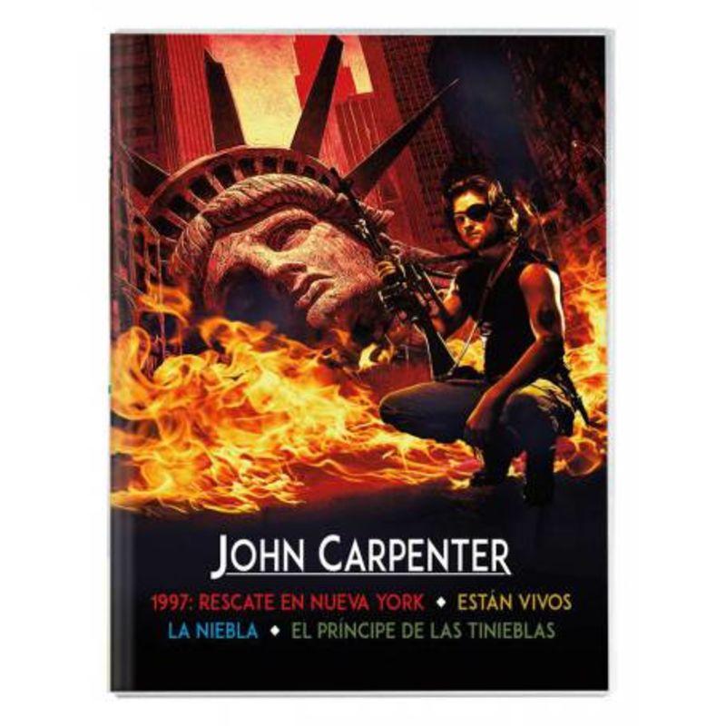JOHN CARPENTER (4 DVD)