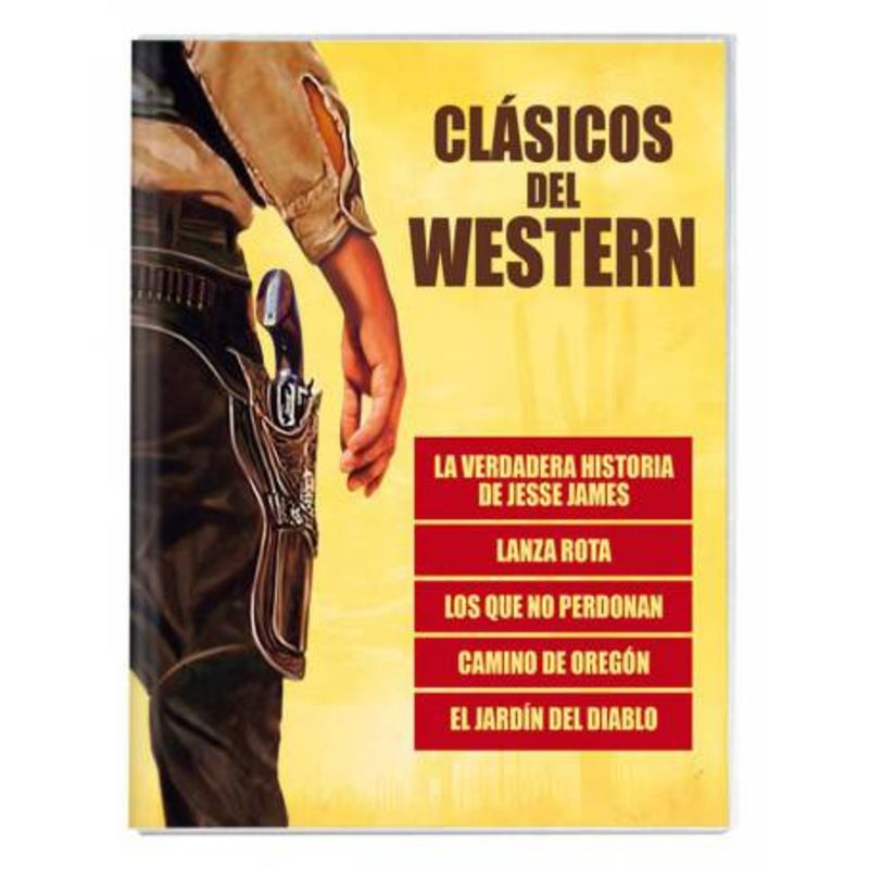 CLASICOS DEL WESTERN (5 DVD)