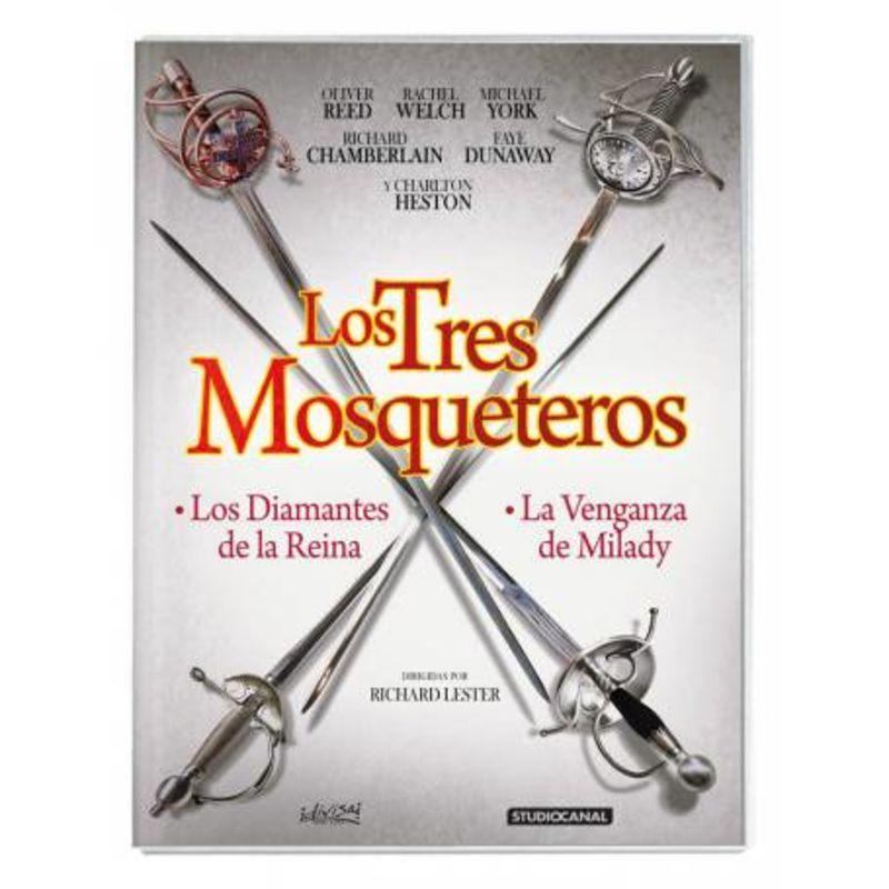 LOS TRES MOSQUETEROS (2 DVD)