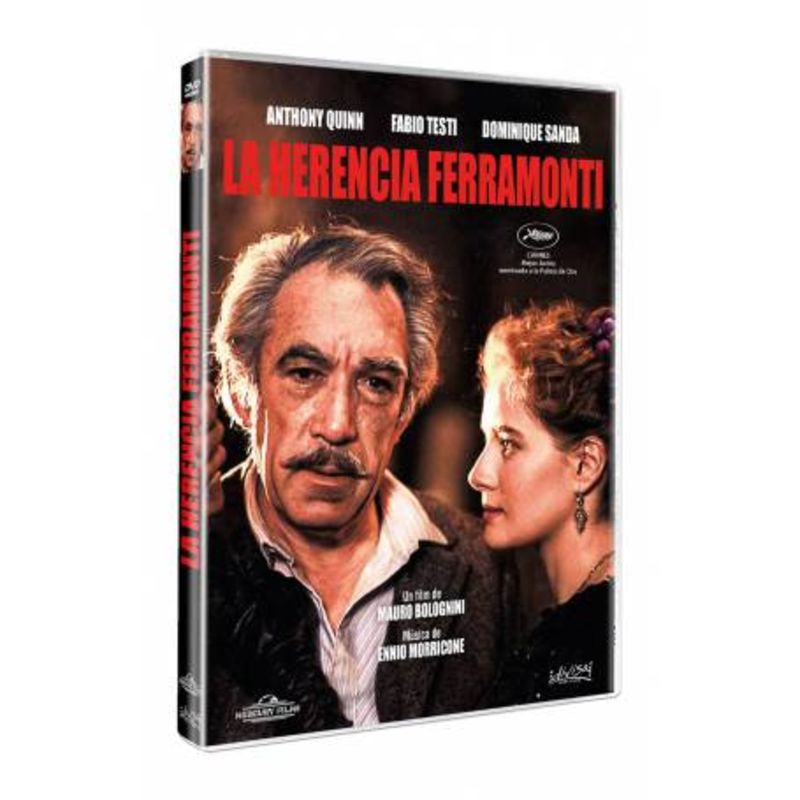 LA HERENCIA FERRAMONTI (DVD) * ANTHONY QUINN