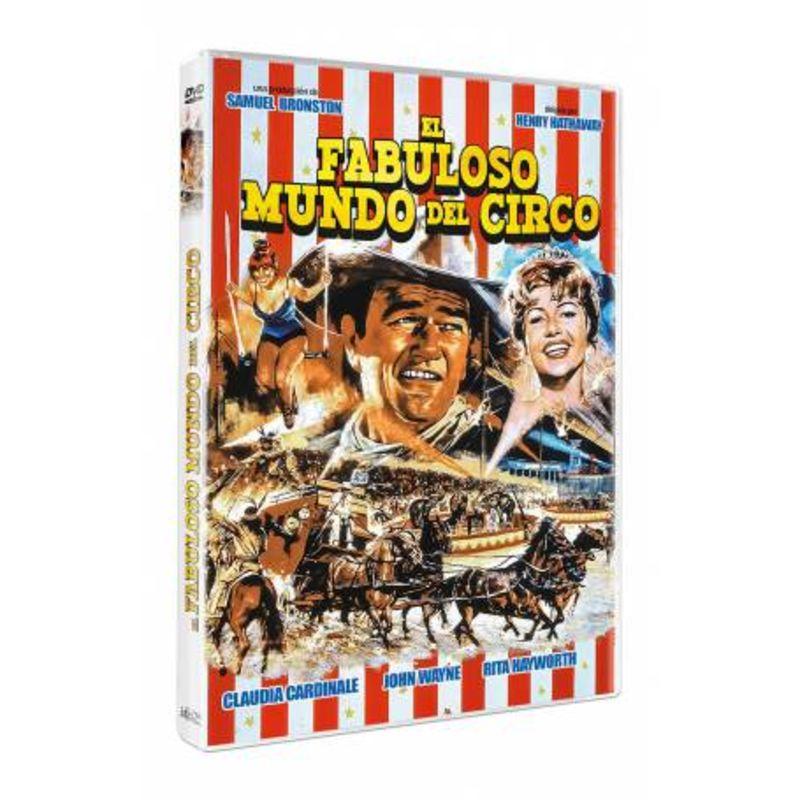 EL FABULOSO MUNDO DEL CIRCO (DVD) * JOHN WAYNE