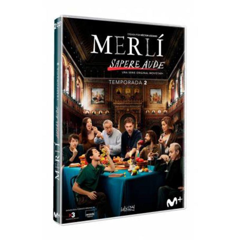 MERLI, SAPERE AUDE - TEMPORADA 2 (DVD)
