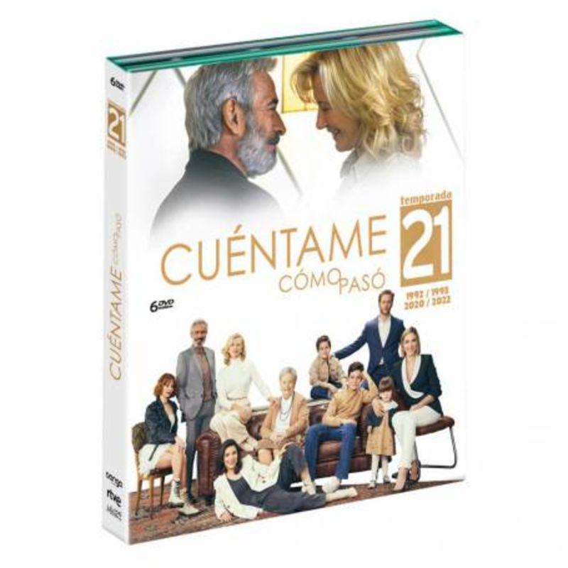 CUENTAME COMO PASO, TEMPORADA 21 (6 DVD)