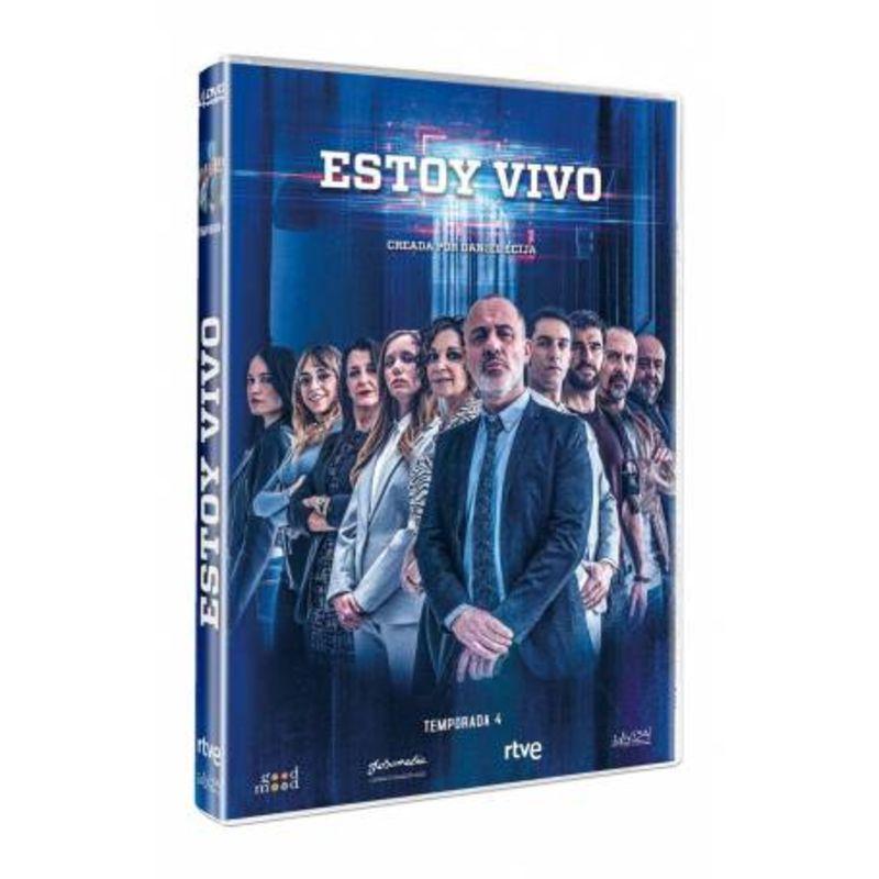 ESTOY VIVO, TEMPORADA 4 (4 DVD)