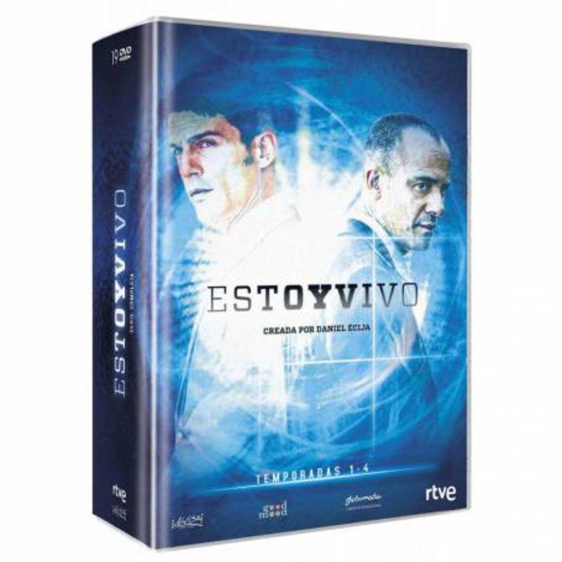 ESTOY VIVO, TEMPORADA 1-4 (19 DVD)