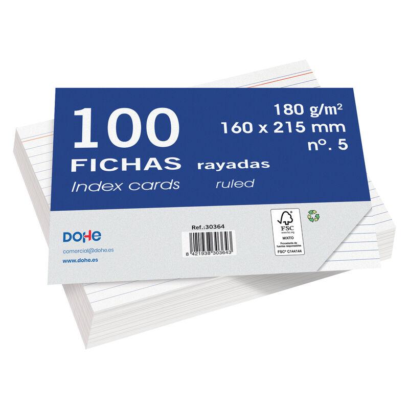 FICHAS 100H RAYADAS 160x215 R: 30364