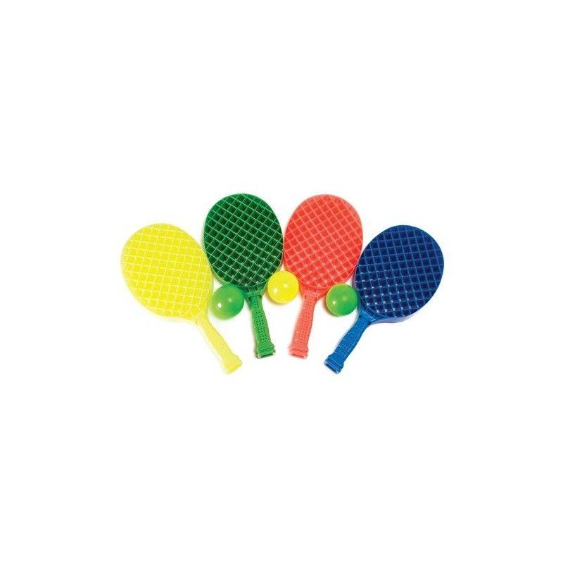 Raqueta Padel Playa -Set De 2 U. + Pelota -