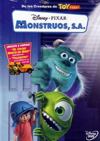 MONSTRUOS, S. A. (DVD)