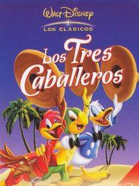 LOS TRES CABALLEROS (DVD) WALT DISNEY