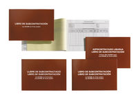 LIBRO SUBCONTRATACION CATALAN / CASTELLANO R: 5389