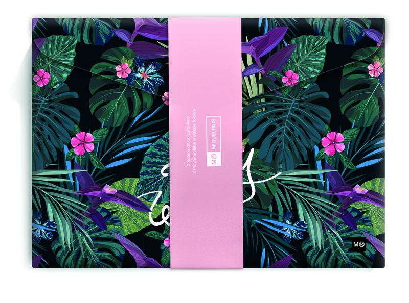 STAY WILD / PINK JUNGLE * PAQ / 2 SOBRES PP R: 16073