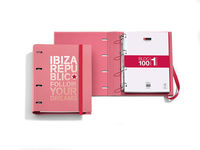 IBIZA REPUBLIC 17 * CARPETA BLOC 25mm NOTEBOOK FOLLOW YOUR R: 20027