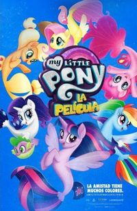 MY LITTLE PONY: LA PELICULA (DVD)