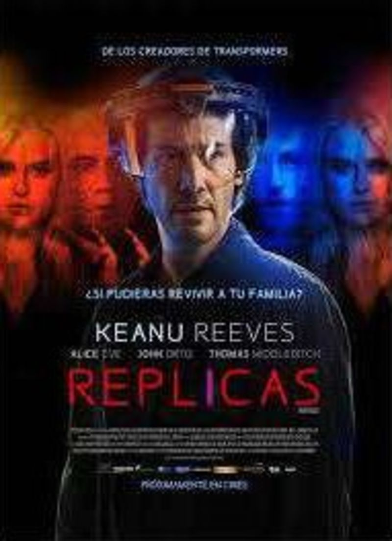 REPLICAS (DVD) * KEANU REEVES, ALICE EVE