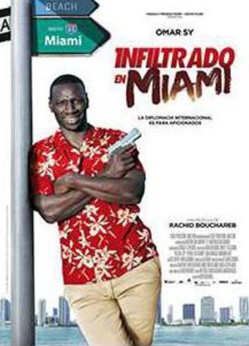 INFILTRADO EN MIAMI (DVD) * OMAR SY, LUIS GUZMAN