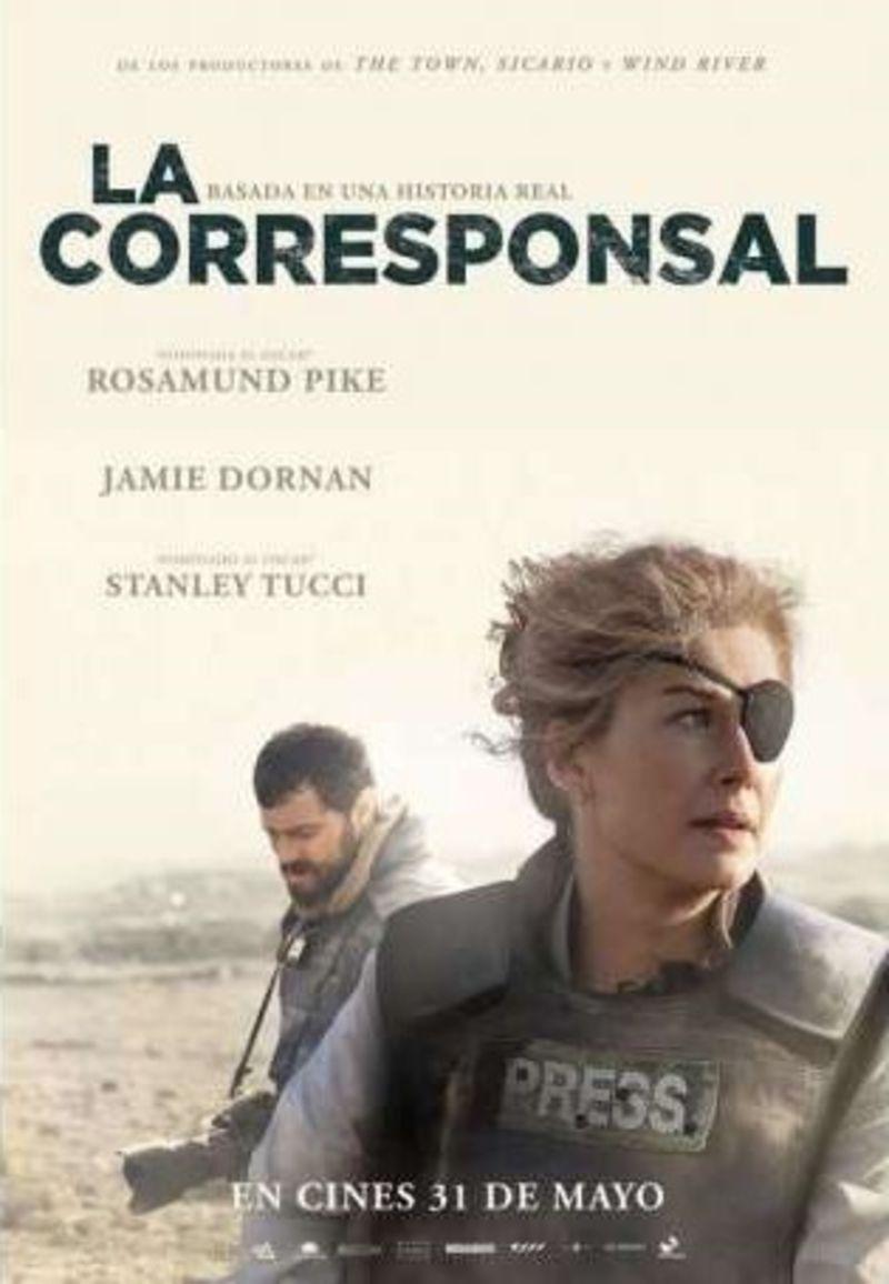 LA CORRESPONSAL (DVD) * ROSAMUND PIKE, JAMIE DOMAN
