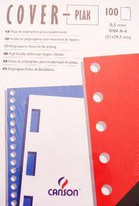 PAQ / 100 CUBIERTAS COVER PLAK 0, 5 NEGRA R: 200401482