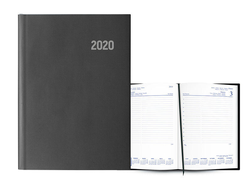 2020 * AGENDA PARIS D / P 15x21 8 IDIOMAS NEGRA
