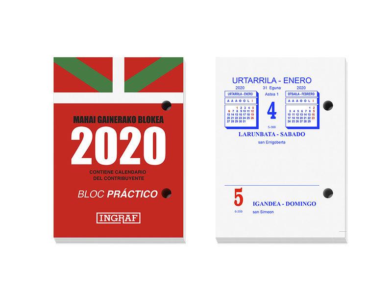 2020 * BLOC BUFFET INGRAF PRACTICO EUSKERA / CASTELLANO