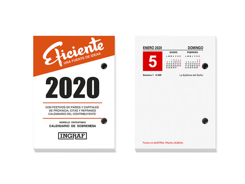 2020 * BLOC BUFFET INGRAF EFICIENTE CASTELLANO 10210