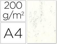 PAQ / 100 CART. A4 MARMOLEADA GRIS 200gr R: 4621229