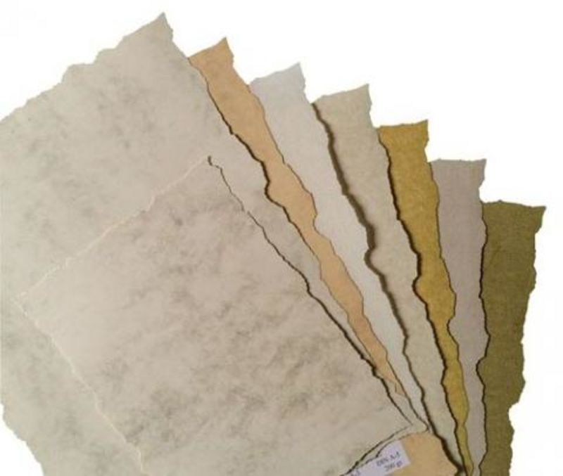 Paq / 25h Pergamino Parchment Blanco 150gr 14, 8x21 A5 R: 2609142 -
