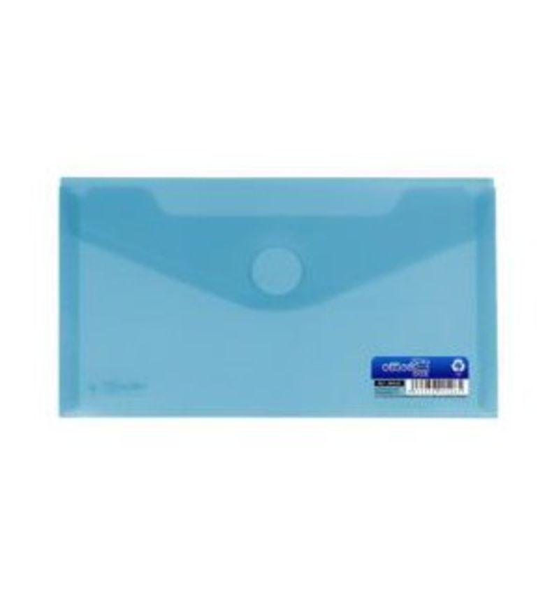 Paq / 10 Sobres Pp Minigag 60x105mm Con Velcro Azul -