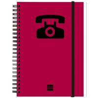 INDICE TELEFONICO M142 A5 MAGENTA R: 8510698