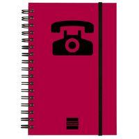 INDICE TELEFONICO M141 10X15 MAGENTA R: 8510598